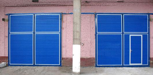 ворота для гаража металлические в белгороде