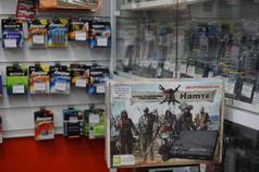 игровые приставки и батарейки